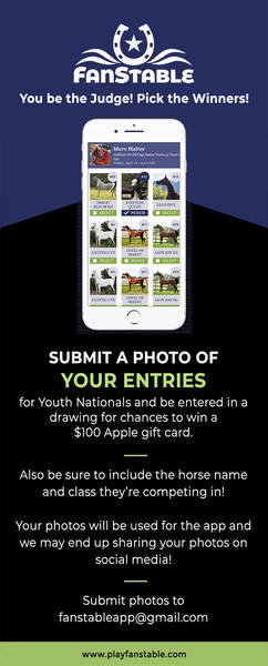 Submit Your Photos for Youth Nationals for a Chance to Win!