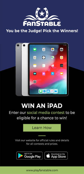 You're only a tweet away from winning an iPad!