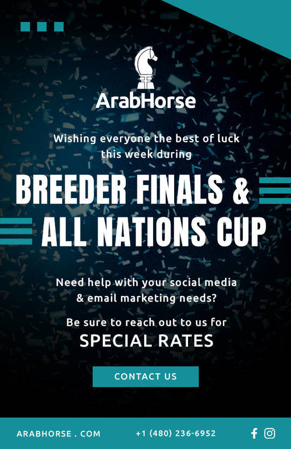 SPECIAL RATES during Breeder Finals & All Nations Cup!