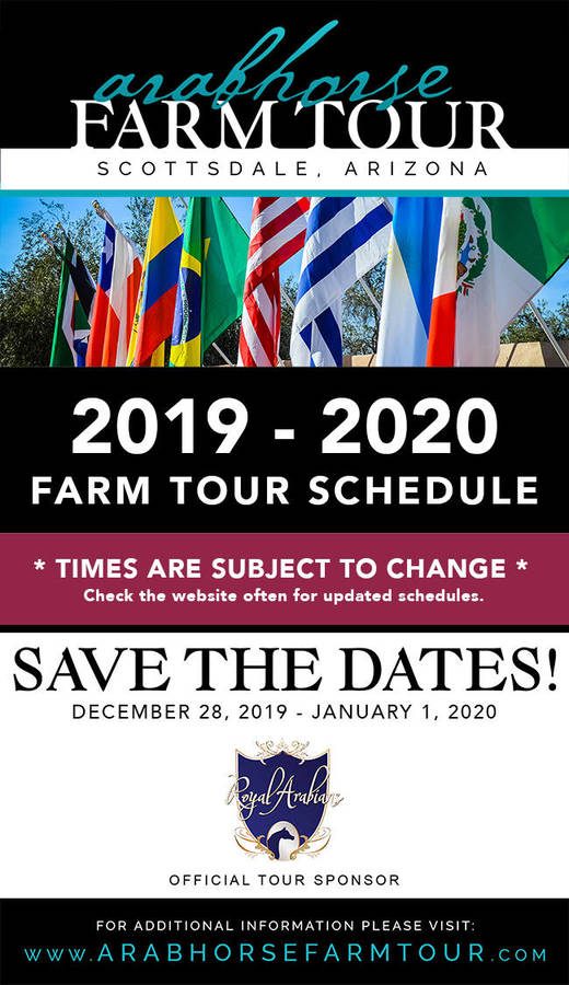 2019/2020 Tentative Farm Tour Schedule