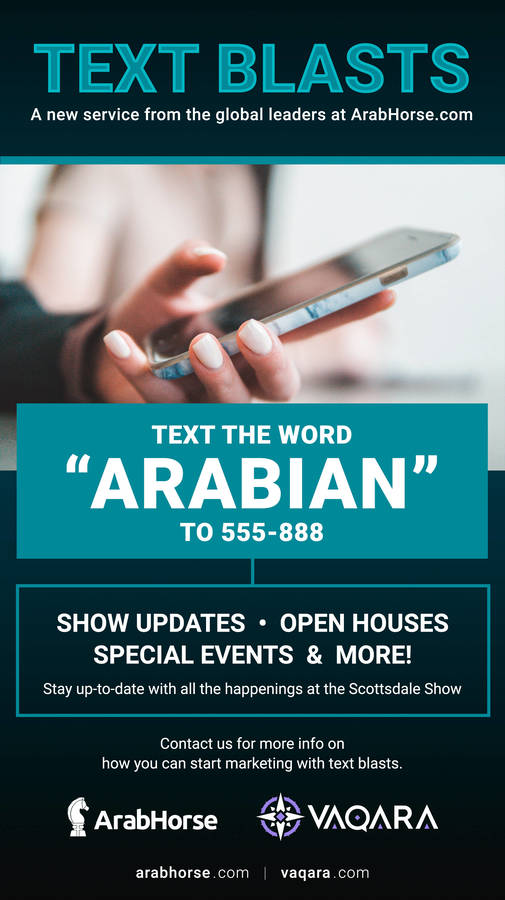 Text Blasts with ArabHorse