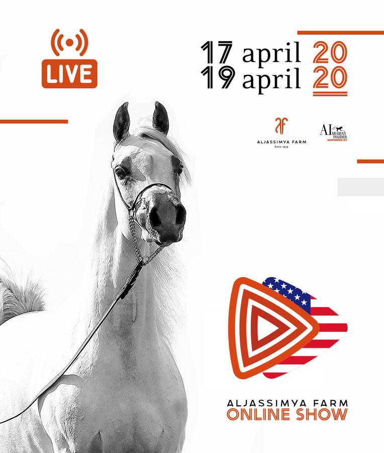 Save the date for the US Edition of the Aljassimya Online Show 17th- 19th April !