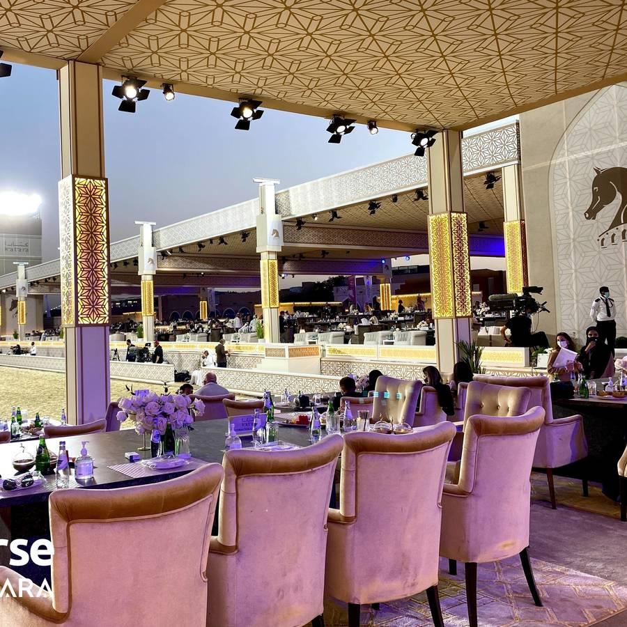 Title Show begins as part of Katara International Arabian Horse Festival