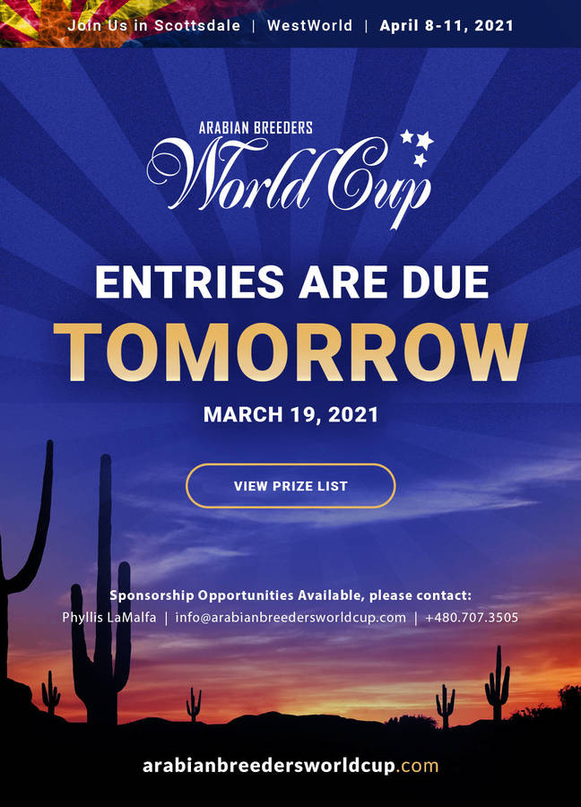 ABWC Entries Close TOMORROW!
