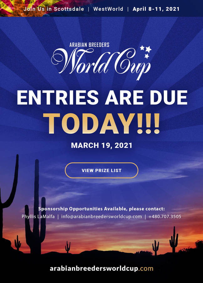 ABWC Entries Close TODAY!