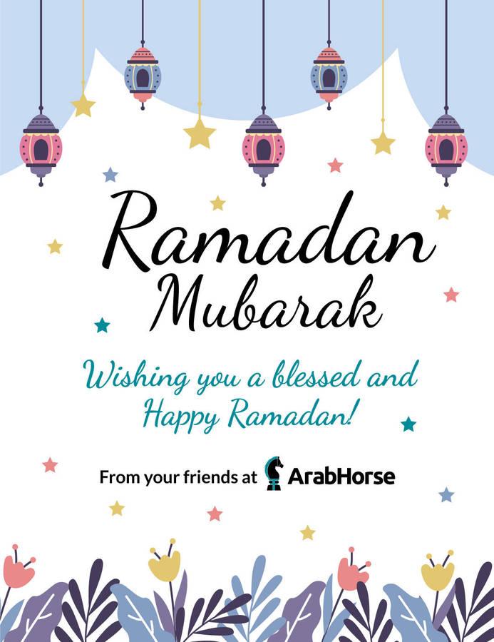 Ramadan Mubarak from ArabHorse!