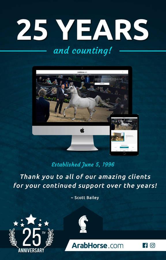 25 Years Serving the Arabian Horse Community