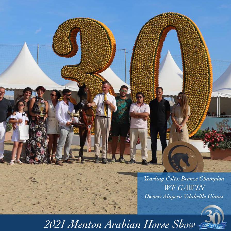 2021 Menton Arabian Horse ShowChampions