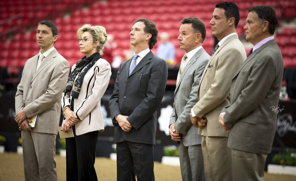 Former World Cup Judges The Arabian Breeders World Cup