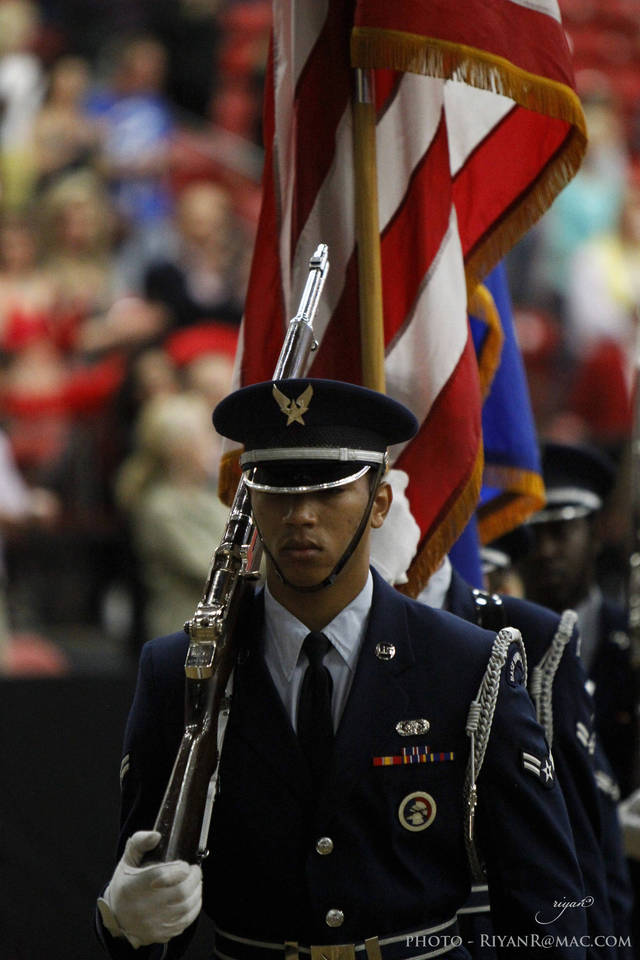 Nellis Air Force Honor Guard The Arabian Breeders World