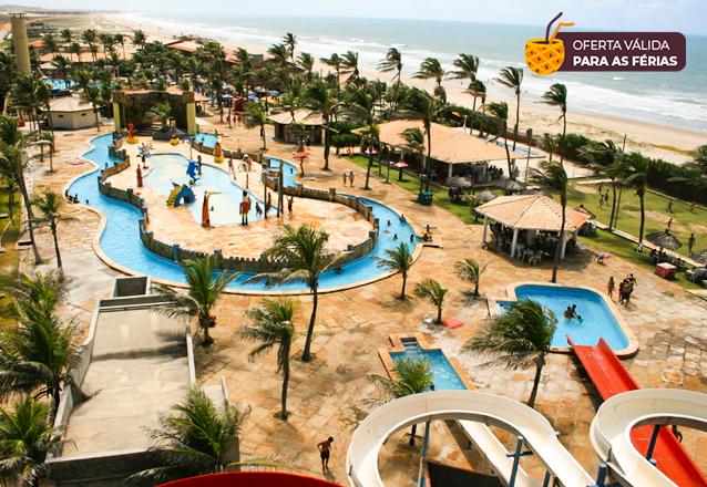 Venha aproveitar o parque perfeito nas férias! Ingresso Adulto e 1 criança até 6 anos de R$120 por apenas R$36,90 no Ytacaranha Park!