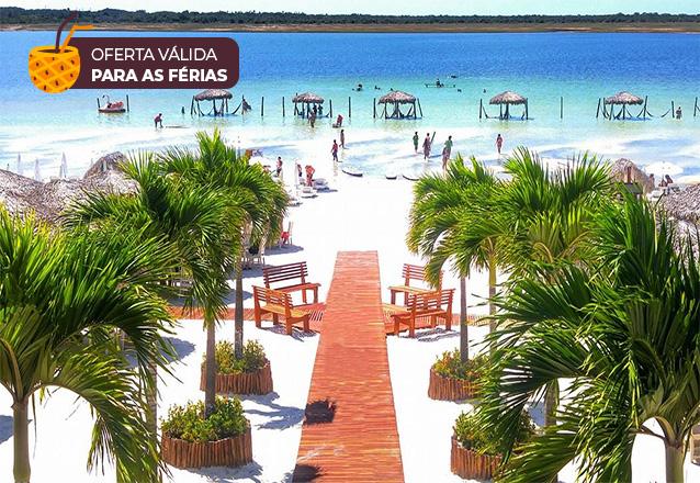 Passeio de 1 dia saindo de Fortaleza com Guia e Transfer para Pedra Furada, Árvore da Preguiça, Lagoa do Paraíso para 1 pessoa por R$129,90 com a Sim 7 Turismo