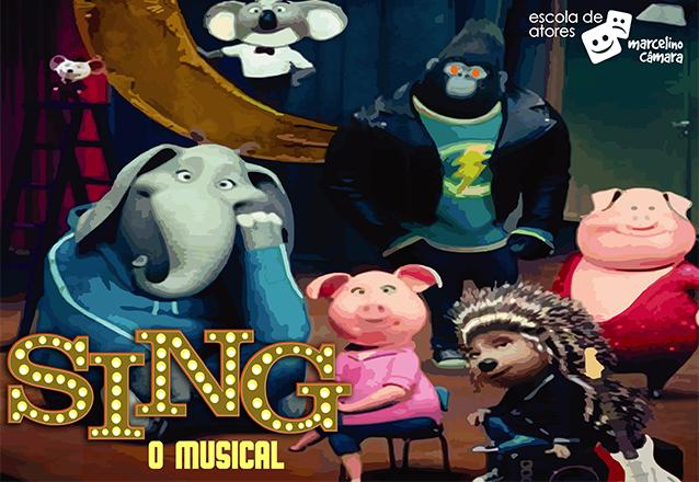 Sing, O Musical! Ingresso Inteira Plateia Alta para o espetáculo de R$40 por apenas R$18,40