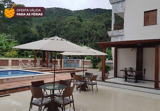 2 diárias (domingo a quarta) para 2 adultos + café da manhã por apenas R$449,90