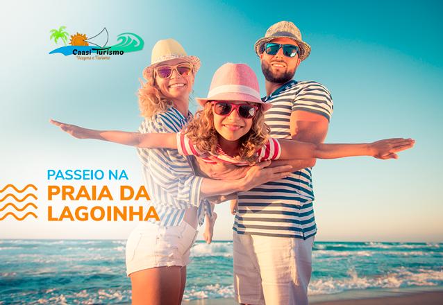 Vem conhecer Lagoinha! Transporte para 1 pessoa (ida e volta) para passeio na Praia de Lagoinha de R$65 porapenas R$54,90
