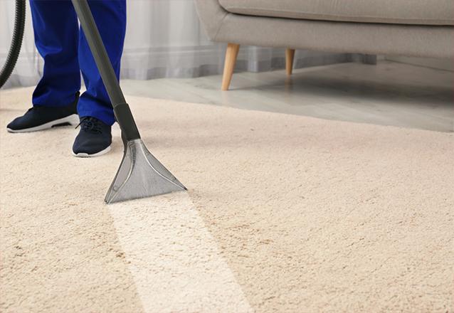 Lavagem (à seco) e higienização de tapete de até 3 metros quadrados de R$75 por apenas R$35,90