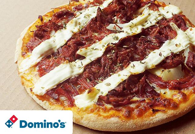 Do tamanho da sua fome! 1 Pizza Brotinho de R$15,90 por apenas R$8,90. Válido para as lojas Domino's Iguatemi, North Shopping, Edson Queiroz (Buena Vista Mall), Bairro de Fátima e Shopping RioMar Fortaleza. Válido para todos os dias!