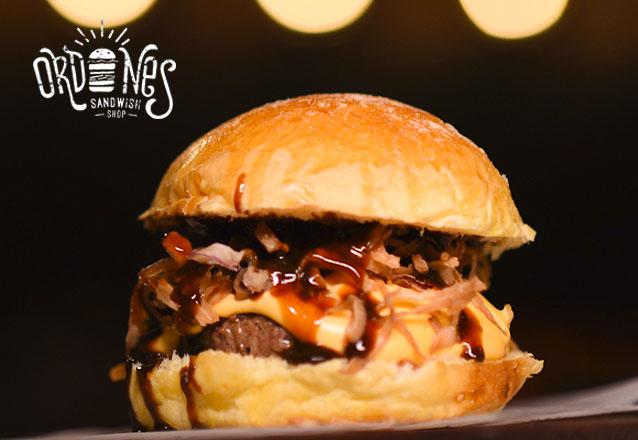 Ordones Sandwish no Barato! 1 Crispy Burger, C&O Burger ou Club Sandwich de até R$23 por apenas R$15,99. Válido apenas para loja VARJOTA!