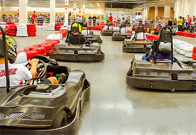 Para você que curte corrida, a oferta perfeita! Corrida de 15 voltas para 1 pessoa por R$34,99 no Stop Kart do North Shopping Jóquei