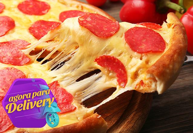 1 Pizza grande de R$30,90 por apenas R$22,90 na Pizzaria Suprema. Válido para Delivery!