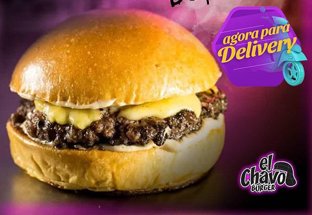 Smash Burger Chiquinha de R$15,90 por apenas R$10,90