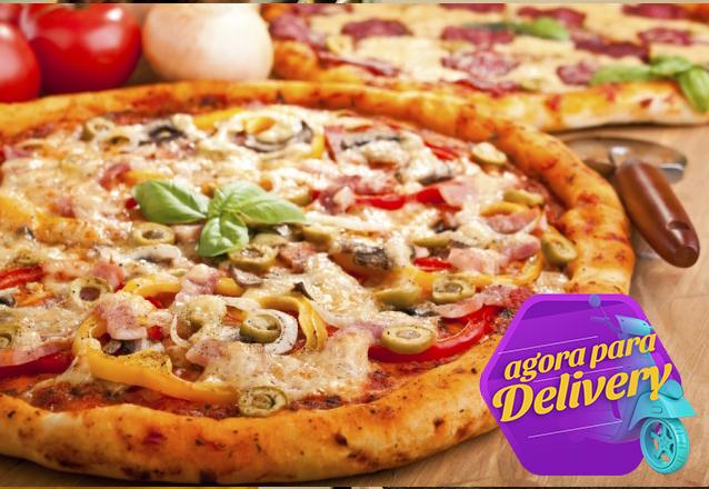 A pizza da Don Pisani Pizzas & Esfihas é sucesso! 01 Pizza grande (8 fatias) de R$32 por R$25,99. Válido para Delivery!