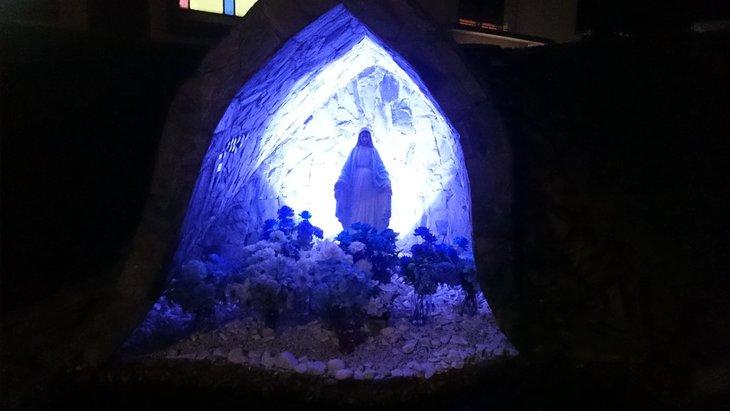 Paroquia Nossa Senhora Gracas Santa Gemma Galgani Barreirinha Gruta 1