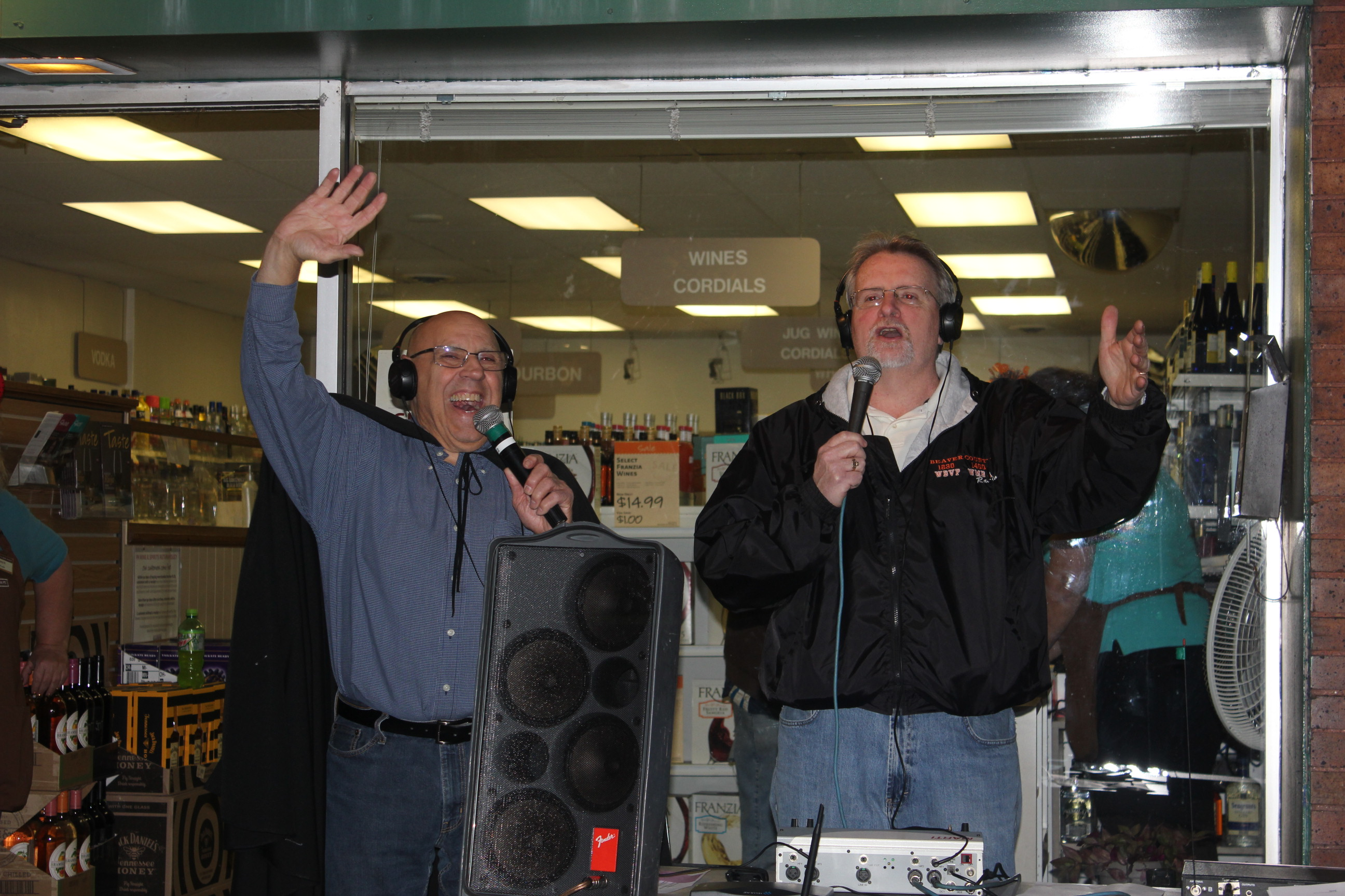 Ed nad Mike Live on WBVP and WMBA