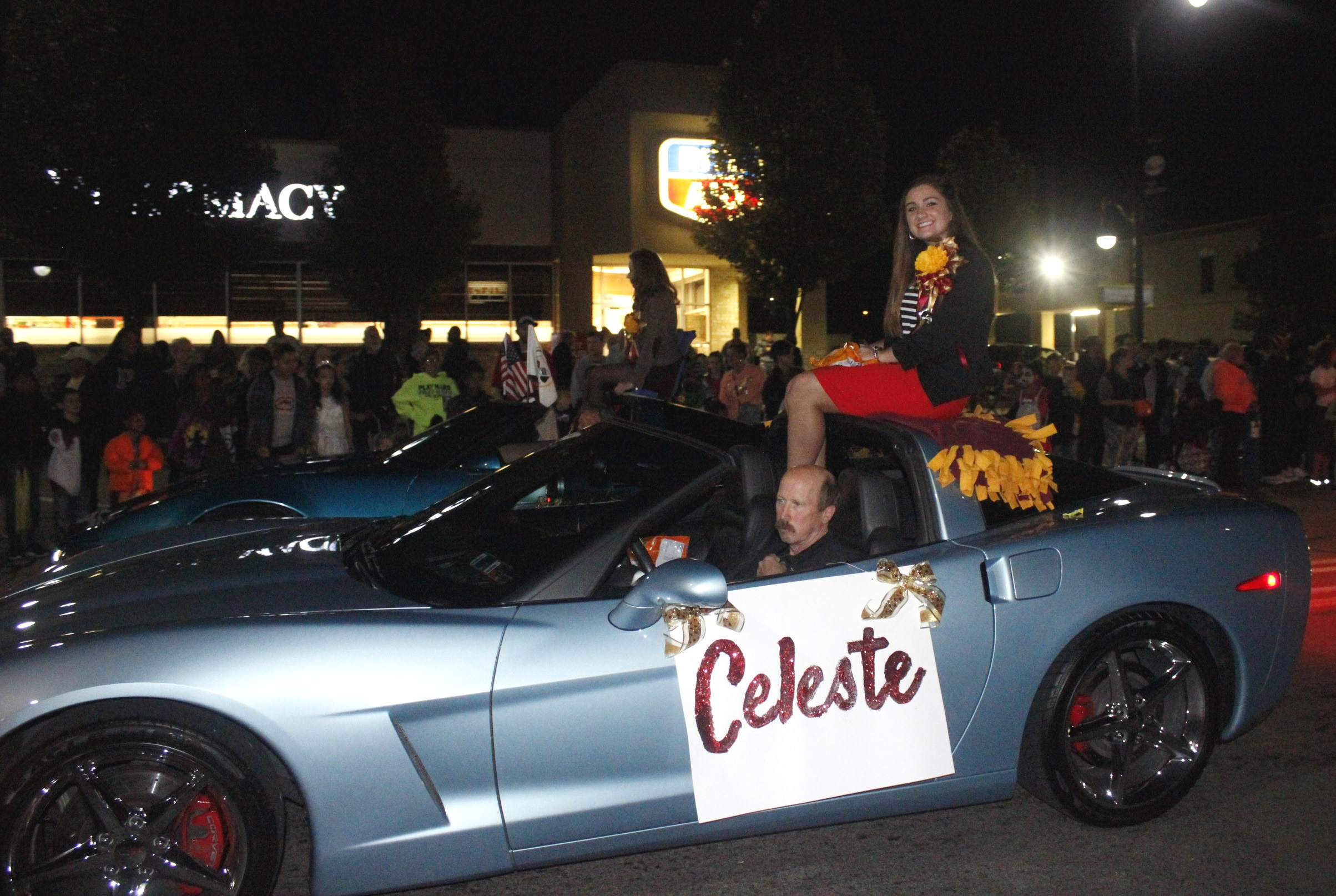 Celeste corvette