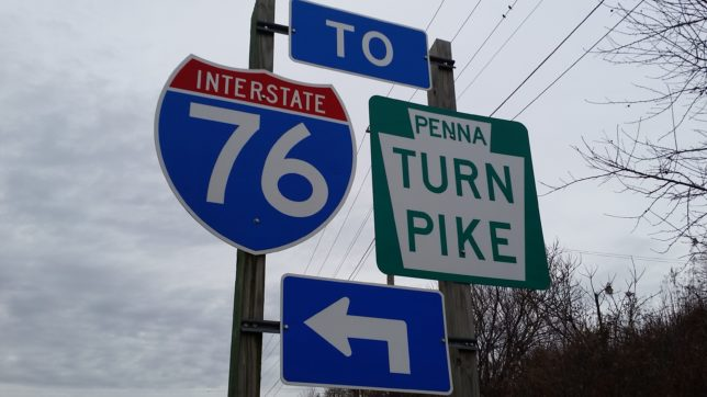 BREAKING NEWS: Multiple-Vehicle Accident On PA Turnpike Westbound