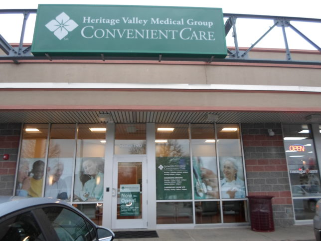 Heritage Valley Medical Group Convenient Care Opens In Aliquippa