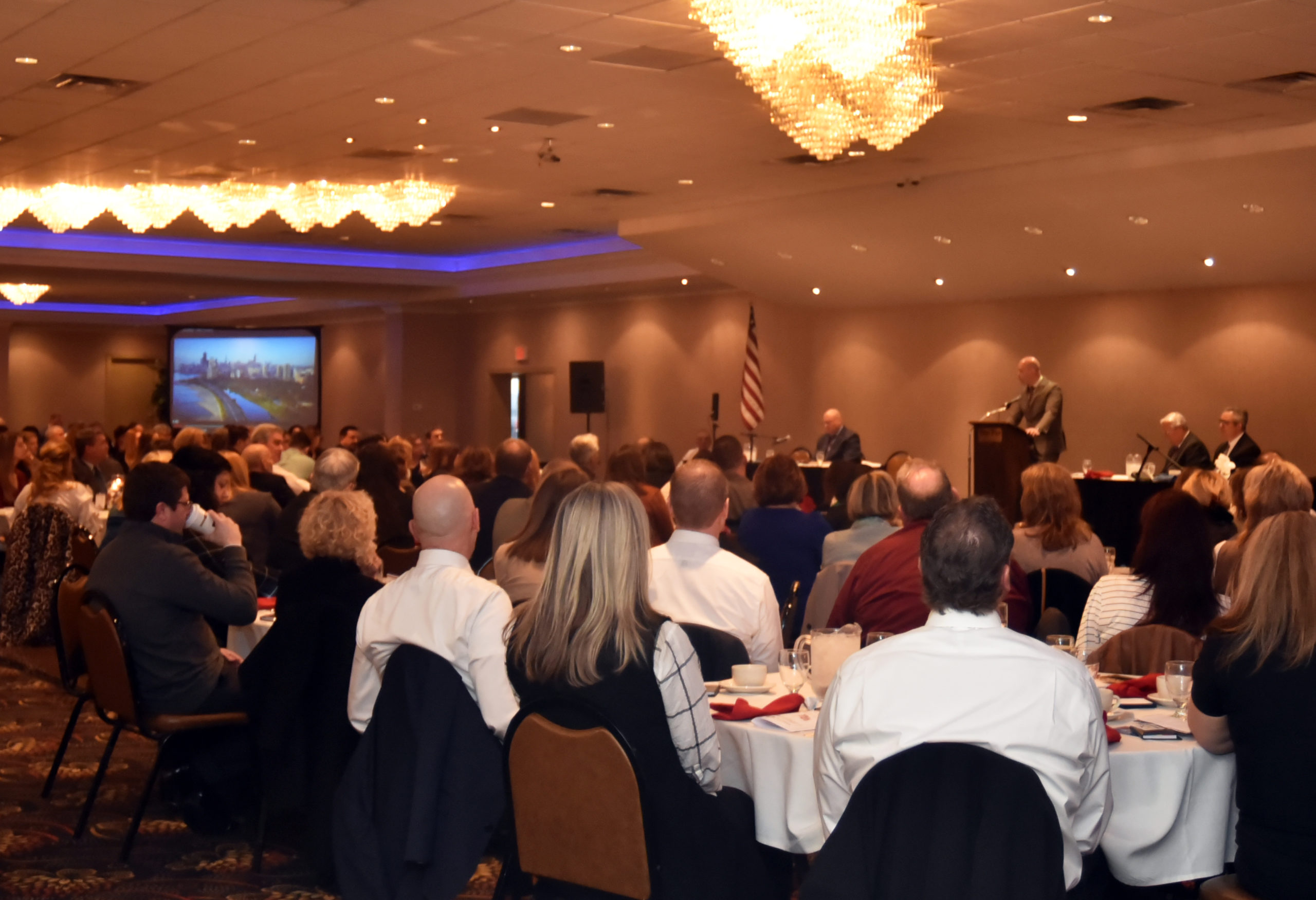 State of the County annual meeting held at The Fez, 200+ in attendance.