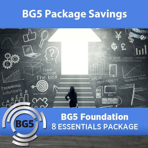 8 Essentials Package BG5 Foundation Course - Semester 1