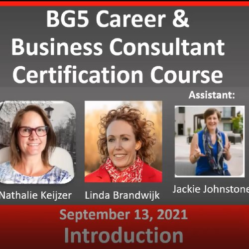 BG5 Consultant Certification Trial Class