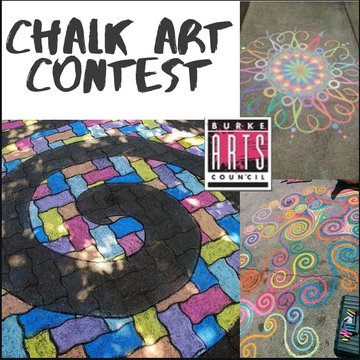 Hey Kids! Do you love chalk? Want to win a FREE party at Bigfoot Climbing Gym? Have you been outside creating artwork with chalk during the shelter- in- place? We want to see your masterpieces! The Burke Arts Council is inviting children ages 12 and unde