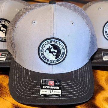 New Hats!!! #bigfoot #bigfootmerch #bigfootsightings #downtownmotown @threebimaging #indoorclimbing #downtownmorganton #shoplocal