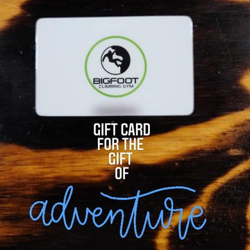 Give the gift of an ADVENTURE at Bigfoot! Best gift ever🎁 #shoplocal #shopsmall #giftideas #indoorbouldering #indoorclimbing #downtonmorganton #discoverburkecounty #downtownhickory #lakejames @foodmattersmarketmorganton