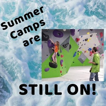 Have all your fun activities been cancelled...Bigfoot Camps are STILL ON! Ages 7-10 and 11-14 details and pricing on our website BigfootClimbingGym.com Message or email us to sign up  BigfootClimbingGym@gmail.com #summercamp #covidsucks #summerfun #funthi