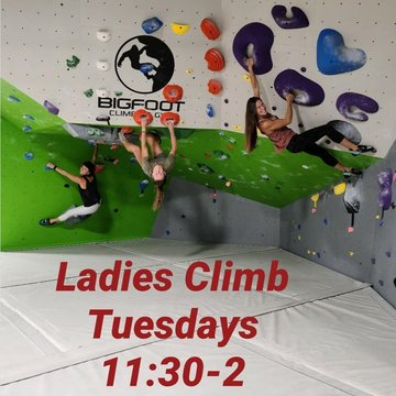 Come hang out with some cool chicks and climb. #ladiesclimb #downtownmotown #downtownlenoir #downtownmorganton #downtownhickory #828isgreat