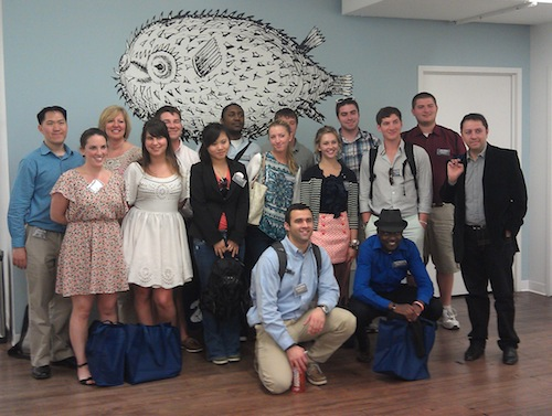 Syracuse University iSchool students visit bitly