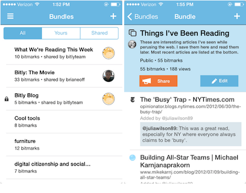improved bundles experience in the iphone app