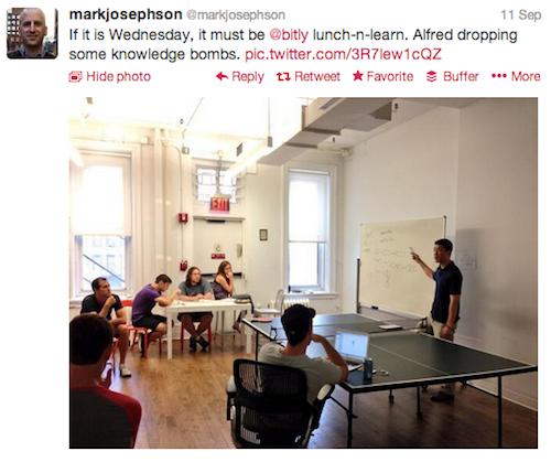 mark josephson, lunch and learn