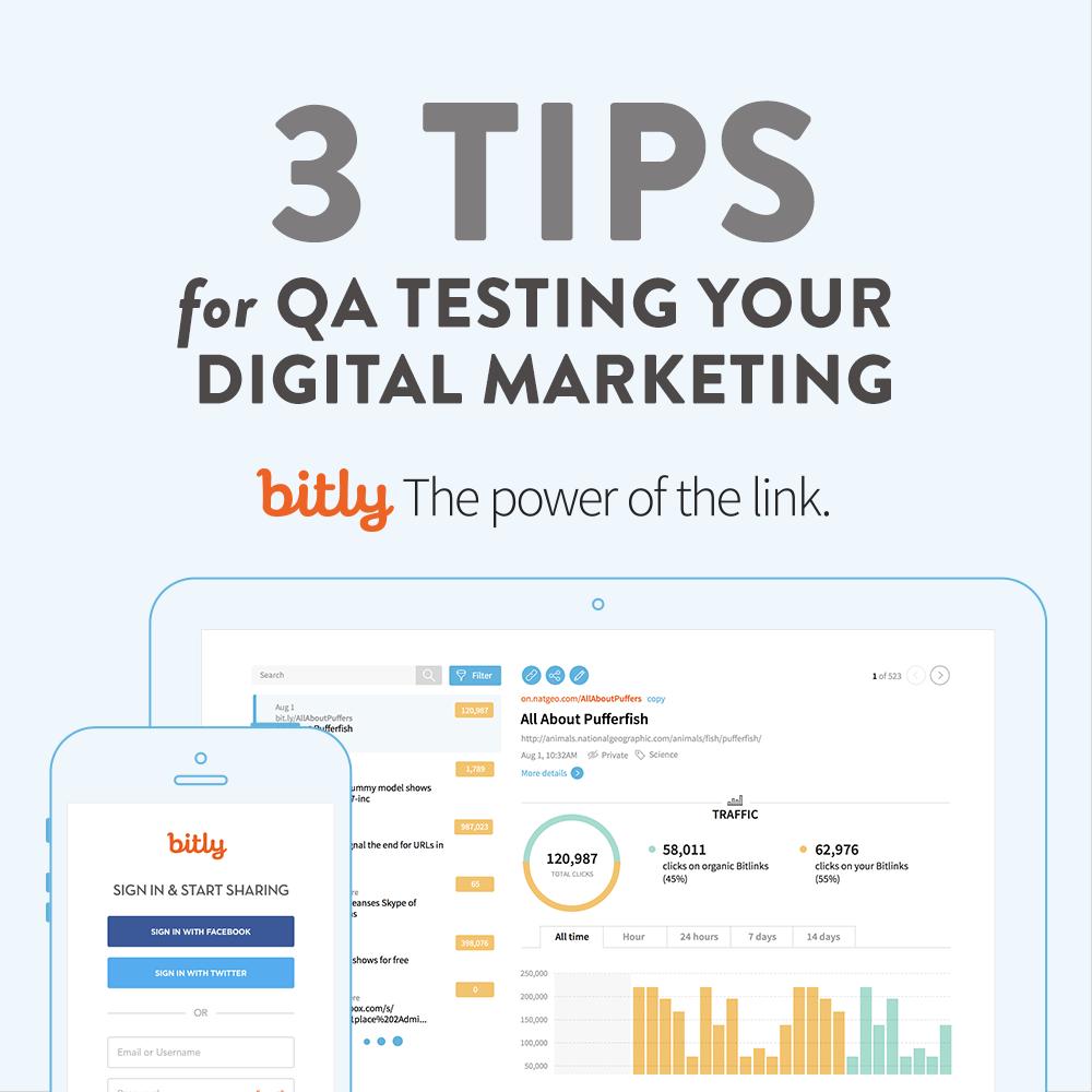 3 tips for QA testing your digital efforts