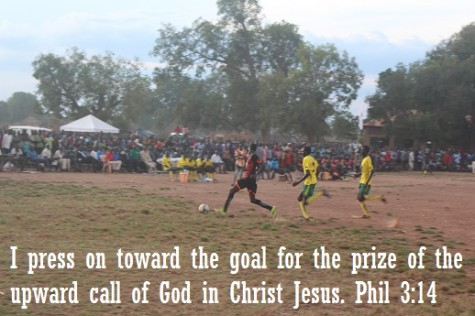 I press on toward the Goal for the prize is the upward call of God in Christ Jesus. - Phil 3:14