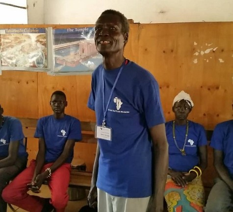 Pastor Rueben shared about the impact the CHE program is having in improving the physical, emotional, social & spiritual health in Warrak community.