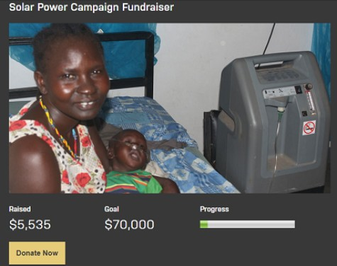 Solar Power Fundraiser