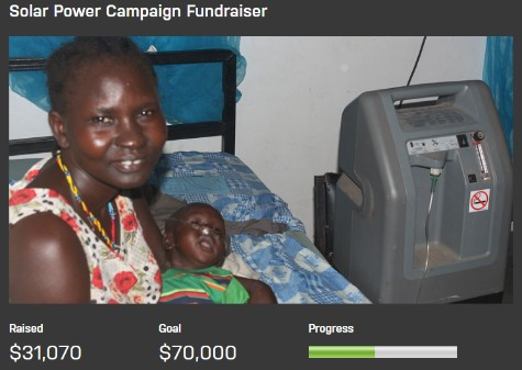 Update on Solar Fundraiser