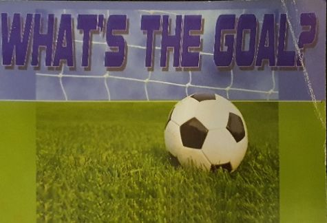 "Cover of the evangelistic track reading ""What's the goal?"""