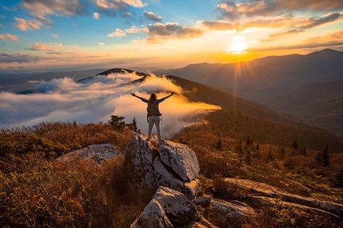Hiking the Blue Ridge Mountains