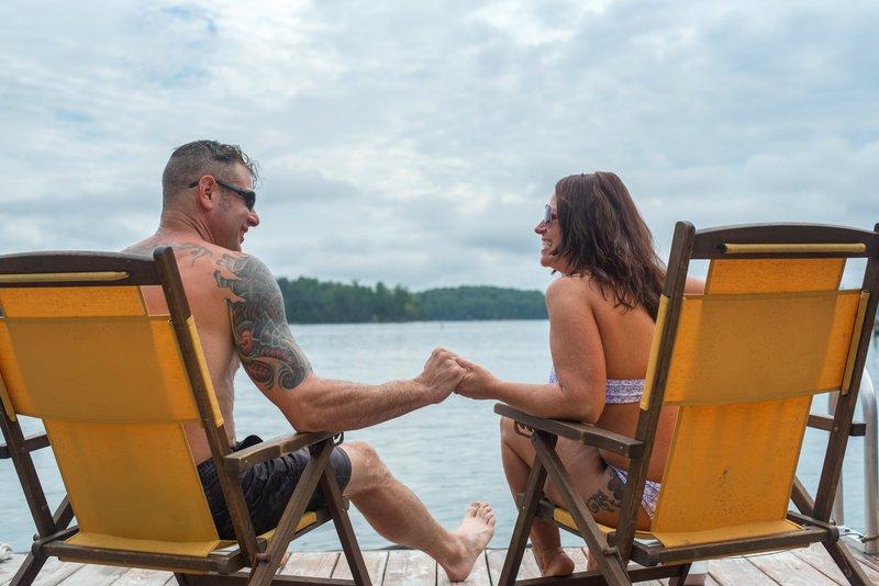 Lake James Couple